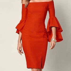 Dresses & Skirts - Strapless Bell Sleeve Dress